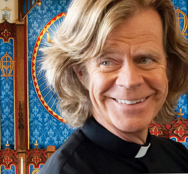 William H. Macy as father Brendan in &quot;The Sessions.&quot;